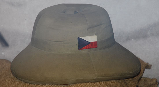 Czech Sola Pith Helmets of WWII at the Prague Military Museum