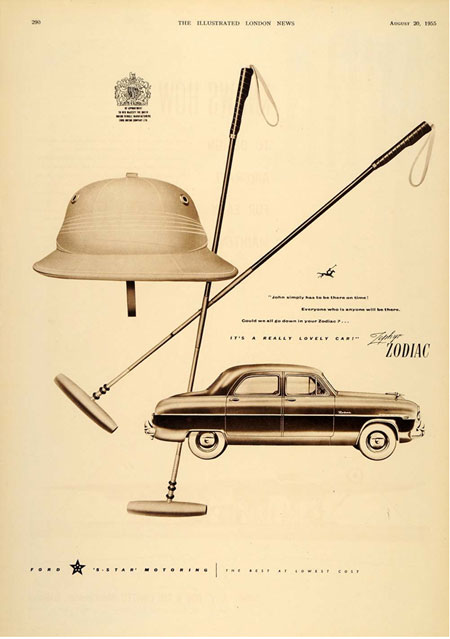 c67e57298934b A vintage 1950s ad that shows how closely the post-war polo helmet  resembled the