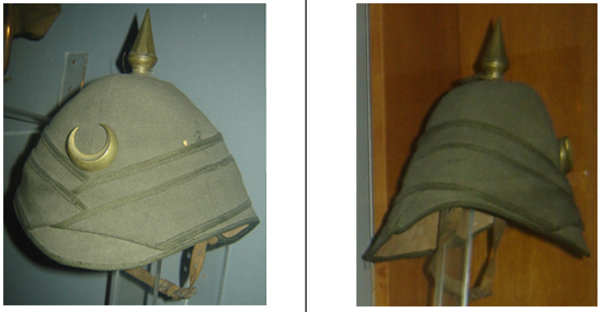 Ottoman Turkish Sun Helmets The Kabalak Military Sun Helmets