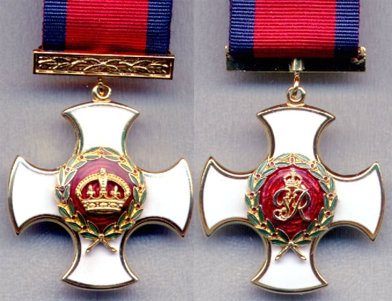 An example of the Distinguished Service Order. From 1st January 1917 it was restricted to recommendations for individuals who were in the presence of the enemy. The award was generally given to an officer in command, but some were awarded to junior officers below the rank of Captain.
