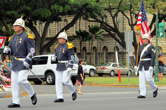 The Hawaii Royal Guards