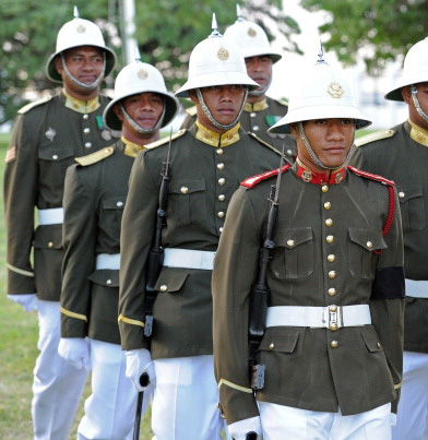 0850634402046 The Honor Guard of the island nation of Tonga