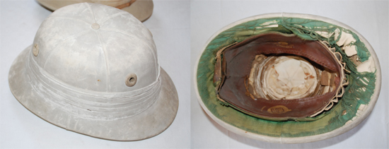 A probably later version of Barnards´helmet is altered in some details. (Author's collection)