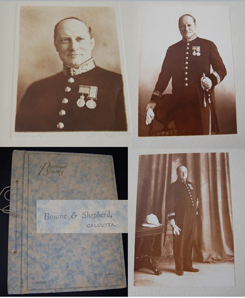 These Bourne & Shepherd´s pictures of the newly appointed judge are dated 1939. (Author's collection)