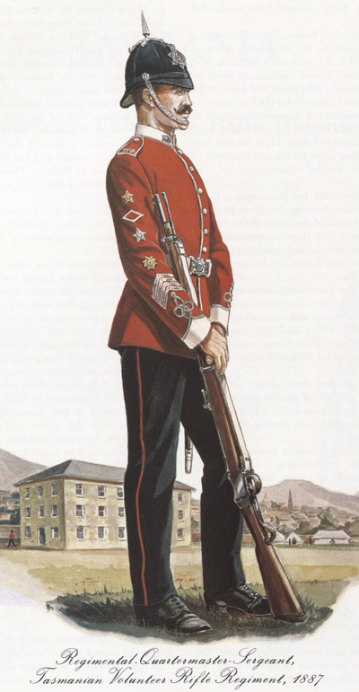 Tasmanian Volunteer Rifle Regiment 1887  5