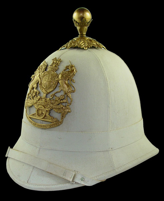 A Royal Canadian Artillery Universal Pattern Helmet Circa 1905.