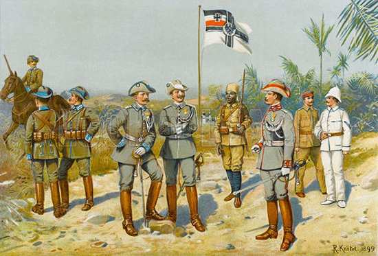 German Troops in Africa