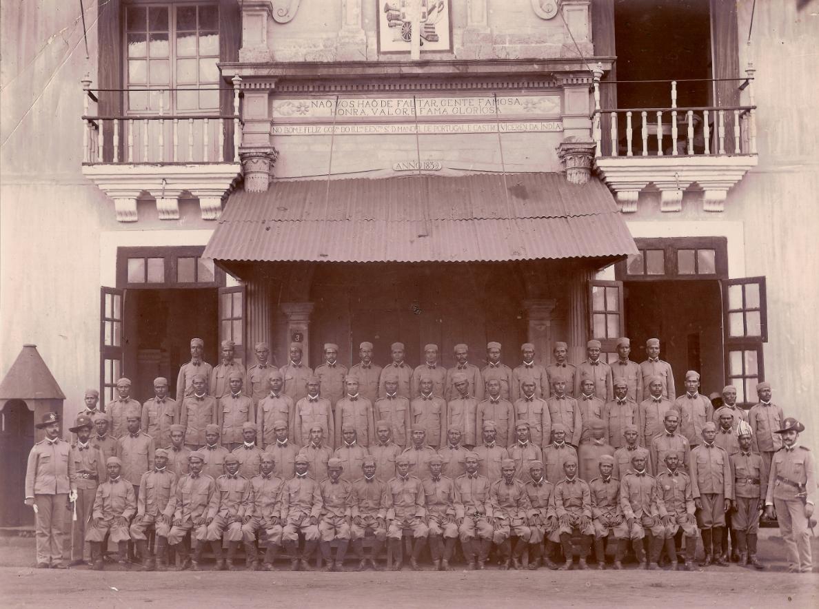 Colonial-Troops