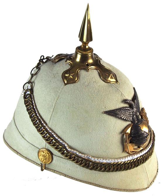 The 19th Century Usmc Sun Helmet Military Sun Helmets