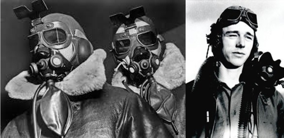 Figure 29. U.S. airmen of the 8th Bomber Command and 80th Fighter Group choose to wear RAF Mk VII's and MkVIII's respectively. As did many other US air crews based in Europe.