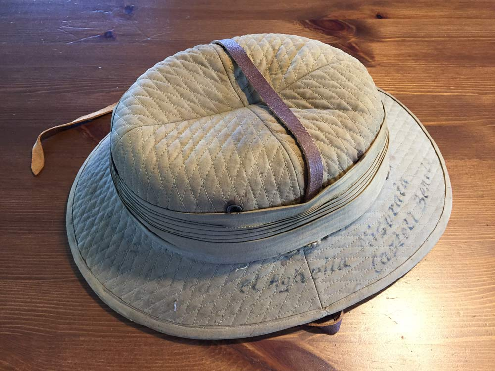 "ee0ddd0e0e2ec While the term ""pith helmet"" is used to describe almost all sun helmets"