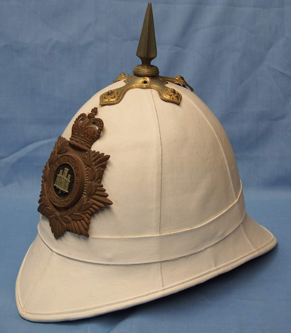 """02232c1c6d43a The British """"Foreign Service Helmet"""" was introduced in the 1870s for use in  its overseas colonies. Around the same time the """"Home Service Helmet"""" –  known ..."""